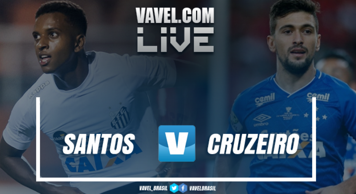 Resultado Santos 0 x 1 Cruzeiro pela Copa do Brasil 2018