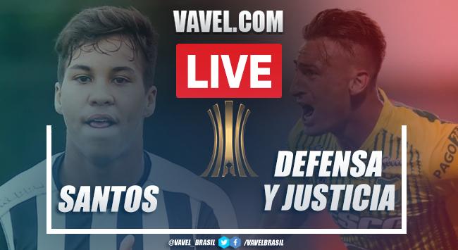 Gols e melhores momentos para Santos 2x1 Defensa y Justicia pela Libertadores 2020