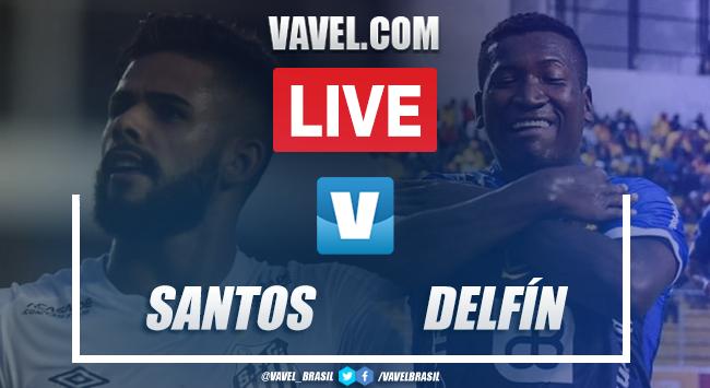 Gol e melhores momentos para Santos 1x0 Delfín pela Copa Libertadores 2020