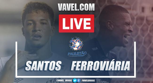 Gols e melhores momentos Santos 1 x 1 Ferroviária pelo Campeonato Paulista