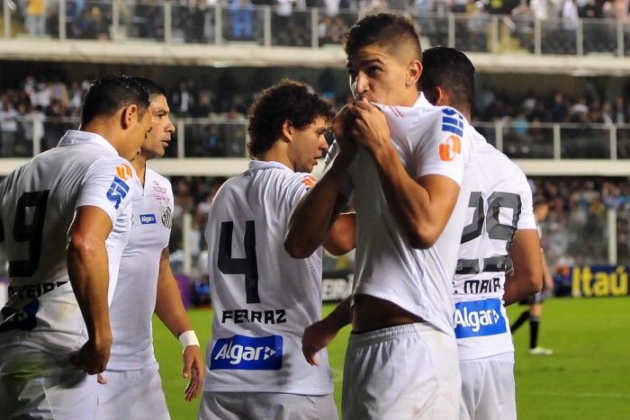 Resultado Santos 3-0 Gama na Copa do Brasil 2016