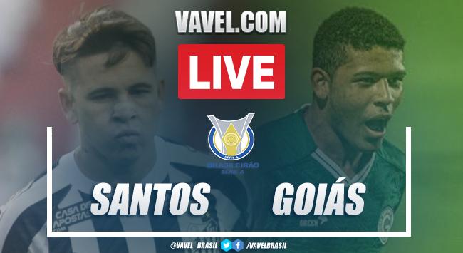 Gols e melhores momentos Santos 3 x 4 Goiás