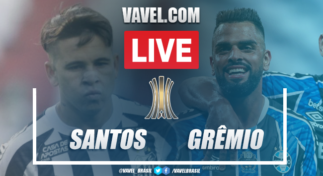 Gols e melhores momentos de Santos 4 x 1 Grêmio pela Copa Libertadores
