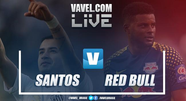 Resultado e gols para Santos 2x0 Red Bull Brasil