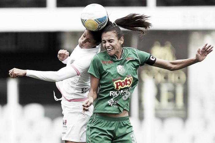 Em jogo equilibrado, Santos e Rio Preto empatam na ida da final do Paulistão Feminino