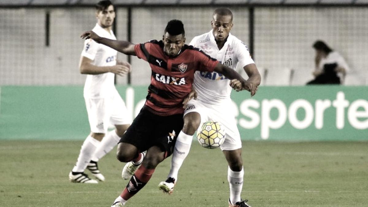 Resultado de Santos X Vitória pelo Campeonato Brasileiro 2018 (5-2)