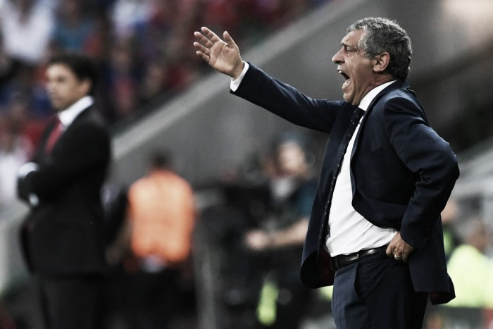 Fernando Santos revealed he has always seen Portugal as a 'great team' after Wales win