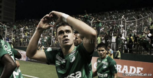 Santos Borré, co-goleador de la Liga Águila