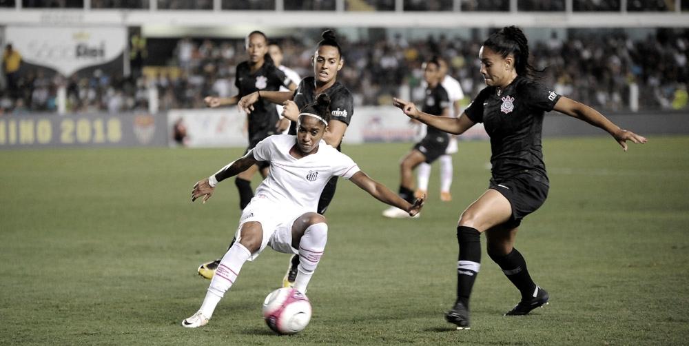 Clássico da rodada, Corinthians e Santos se enfrentam pelo Brasileirão Feminino