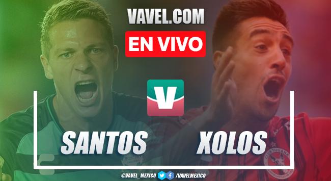 Santos vs XolosEN VIVO transmisión online en Liga MX (0-0)