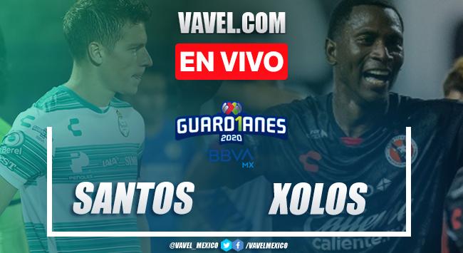 Goles y resumen del Santos 2-0 Xolos en la jornada 12 del Guard1anes 2020