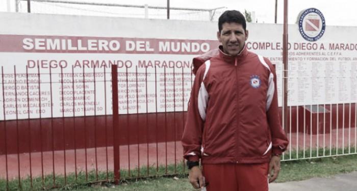 """Raúl Sanzotti: """"Esperemos que sea un punto de arranque para Argentinos"""""""