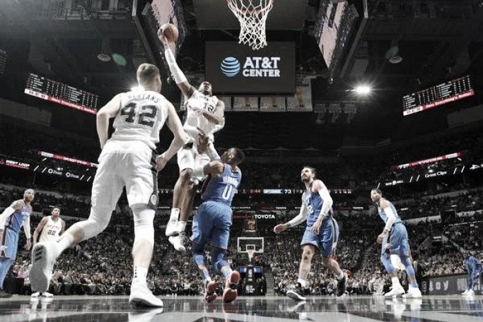 Los Spurs detuvieron a Oklahoma