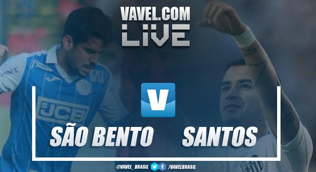 Resultado São Bento 0x4 Santos no Campeonato Paulista 2019