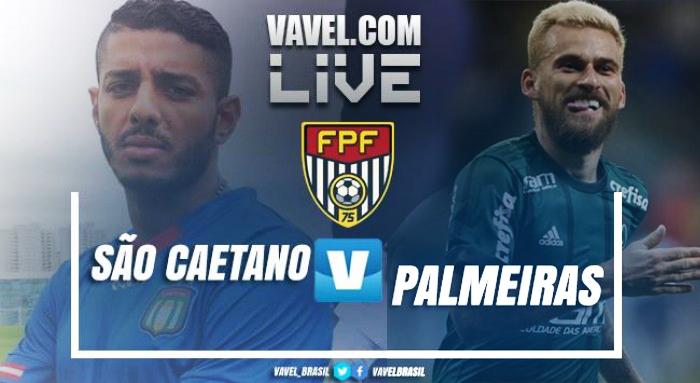 Resultado São Caetano 0x2 Palmeiras no Campeonato Paulista 2019