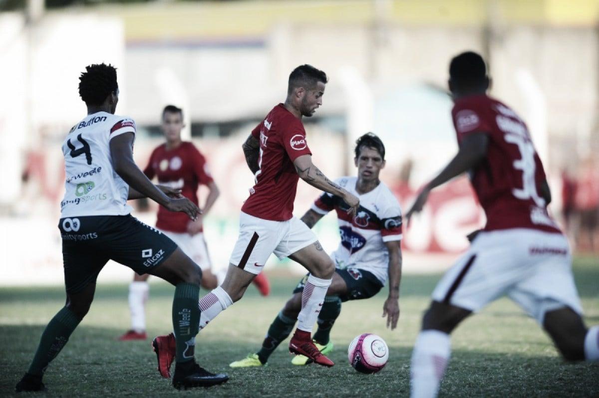 São Paulo-RS e Inter ficam no zero em jogo marcado por baixa produtividade