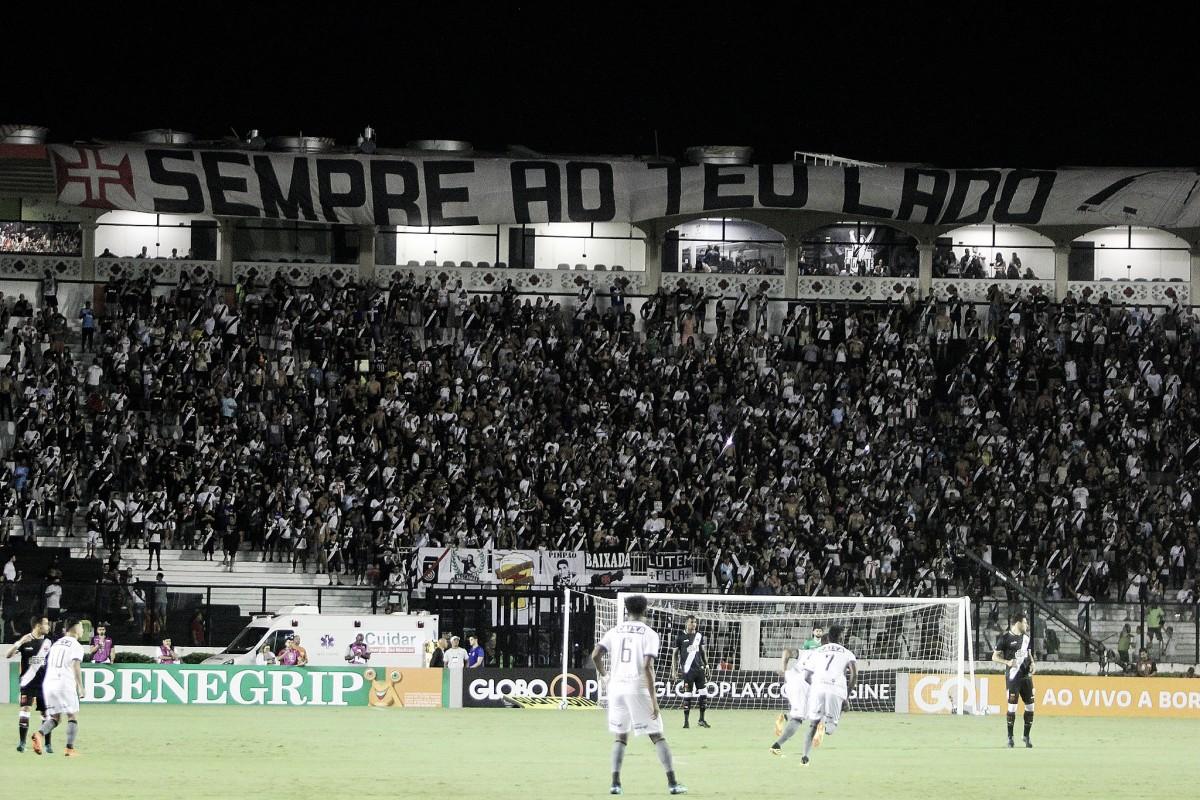 """Com ingressos a partir de R$ 5, Vasco anuncia promoção para """"decisão"""" contra o Bahia"""
