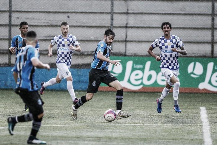 São José vence Grêmio e Tricolor segue na zona de rebaixamento do Gauchão