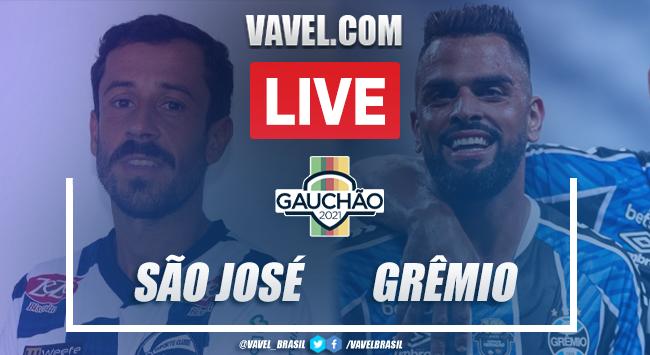 Gols e melhores momentos São José 1 x 1 Grêmio pelo Campeonato Gaúcho 2021