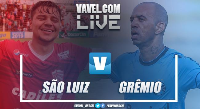 Resultado São Luiz x Grêmio pelo Campeonato Gaúcho (0-0)