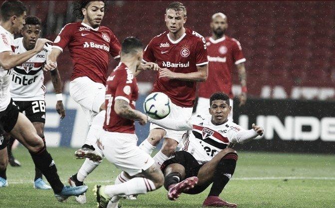Com gol de pênalti, Internacional vence São Paulo em casa