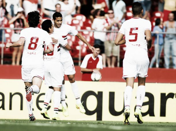 Em jogo festivo de Rogério Ceni, São Paulo vence Sport com facilidade no Morumbi
