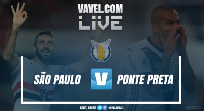 Resultado São Paulo x Ponte Preta pelo Campeonato Brasileiro 2017 (2-2)