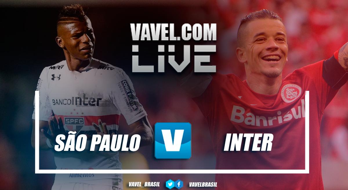 Resultado de São Paulo x Internacional pelo Campeonato Brasileiro 2018 (0-0)