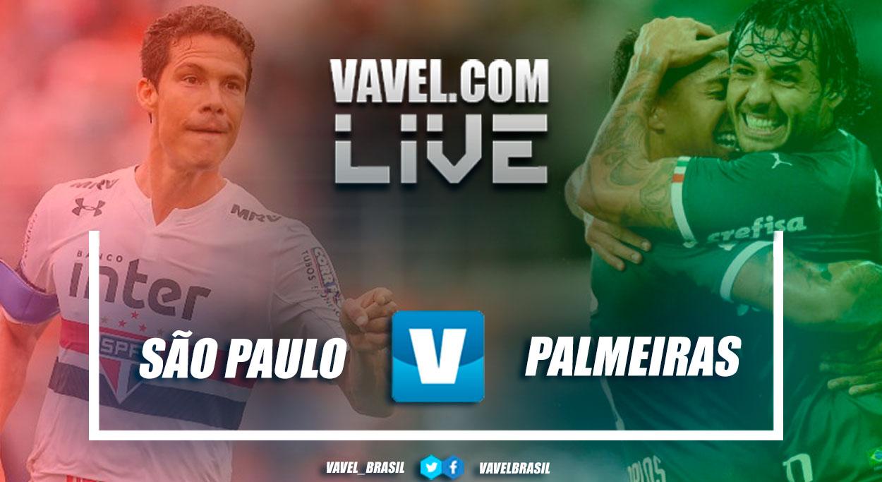 Resultado Palmeiras x São Paulo pelo Campeonato Paulista (0-0)