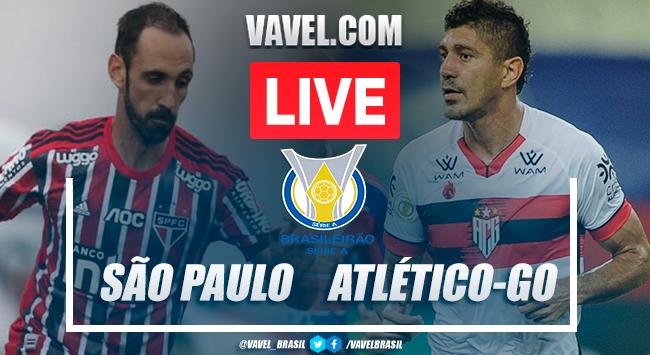 Gols e melhores momentos para São Paulo 3x0 Atlético-GO pelo Campeonato Brasileiro 2020
