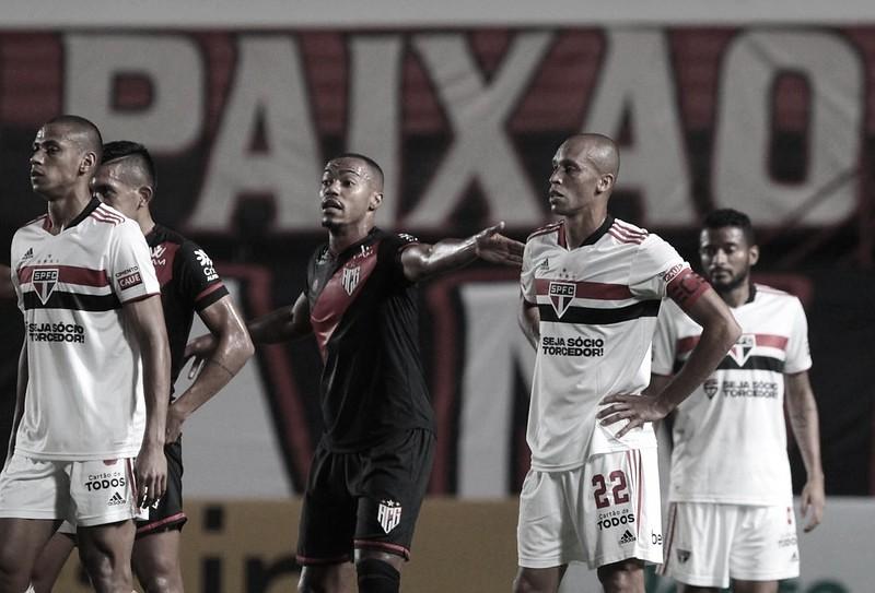 Gols e melhores momentos de São Paulo x Atlético-GO (2-1)