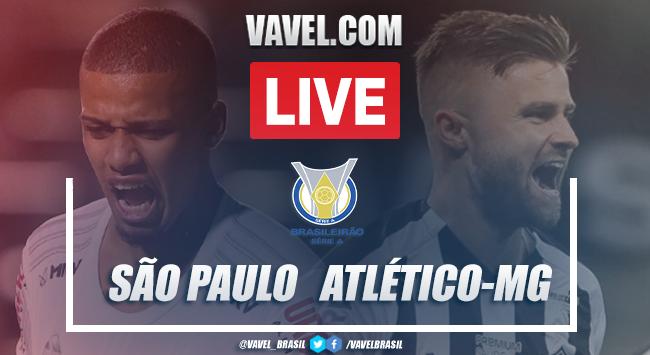 Gols e melhores momentos São Paulo 3 x 0 Atlético-MG pelo Campeonato Brasileiro 2020
