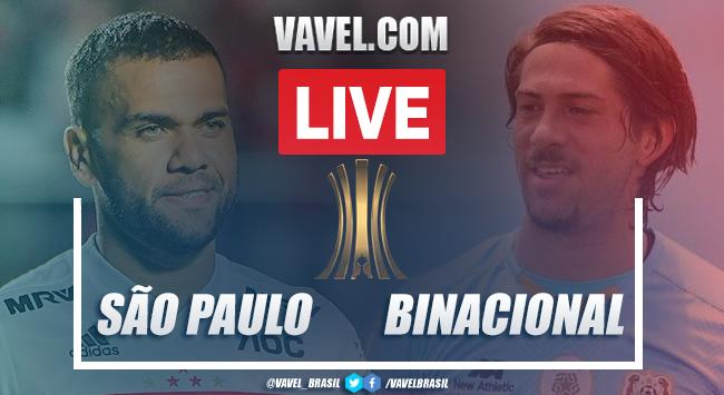 Gols e melhores momentos de São Paulo x Deportivo Binacional (5-1)