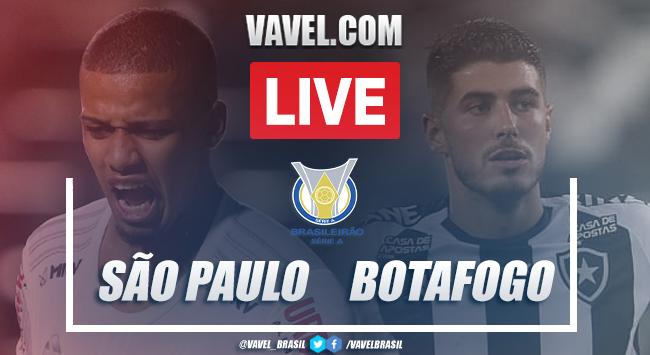 Gols e melhores momentos de São Paulo 4x0 Botafogo