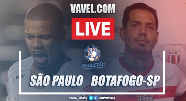 Gols e melhores momentos para São Paulo 1x1 Botafogo-SP pelo Campeonato Paulista