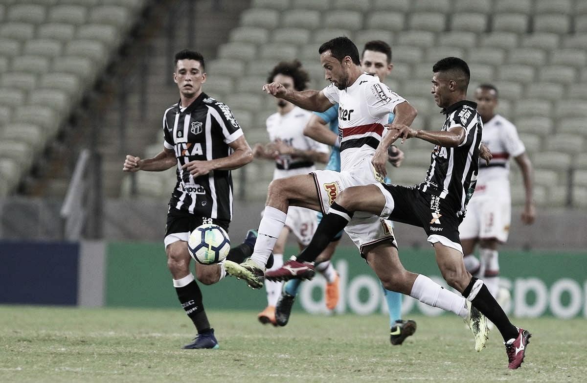 """Após empate com o Ceará, Sidão analisa: """"Não estamos satisfeitos"""""""