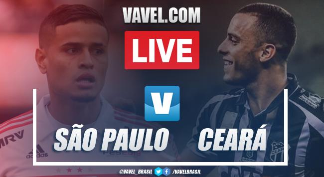 Gols e melhores momentos de São Paulo 1 x 0 Ceará pelo Campeonato Brasileiro 2019