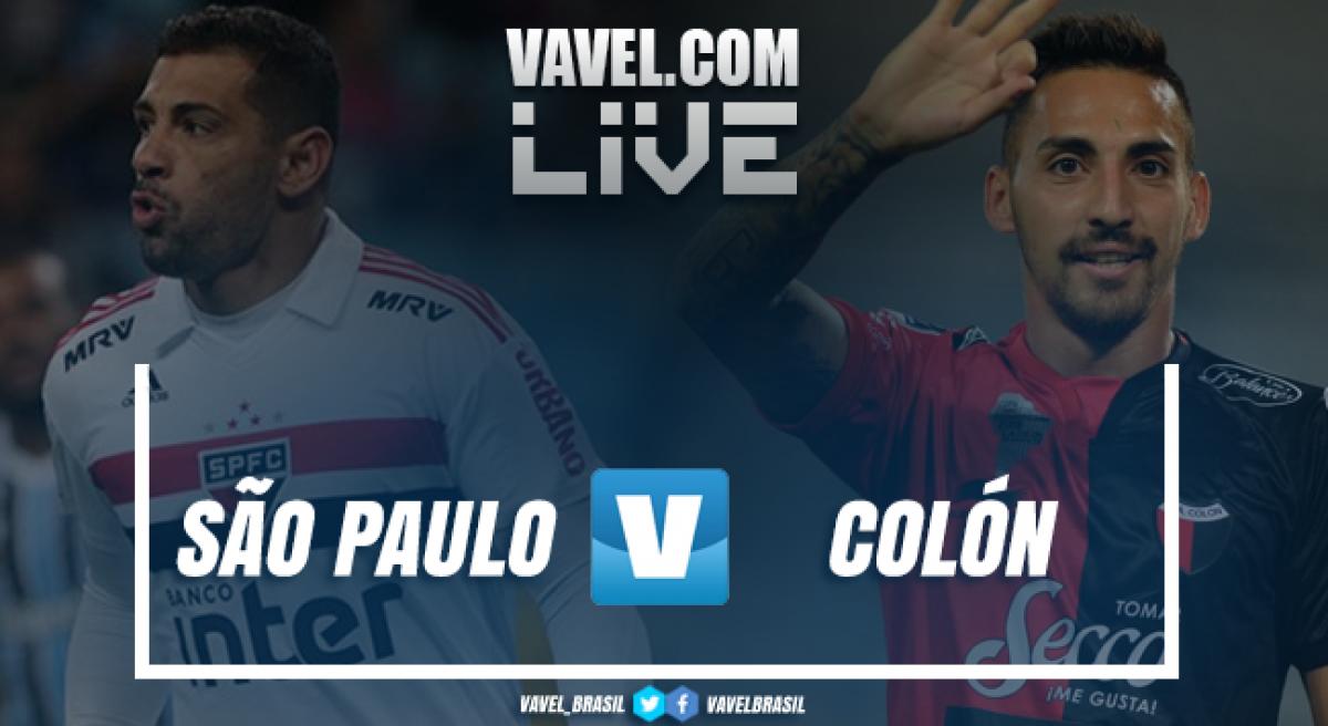 Resultado São Paulo x Colón pela Copa Sul-Americana 2018 (0-1)