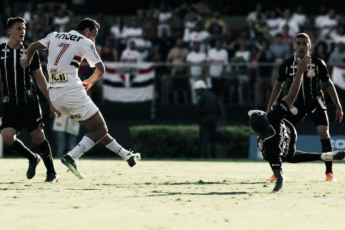 Com vantagem tricolor, Corinthians e São Paulo duelam por vaga na decisão do Paulista