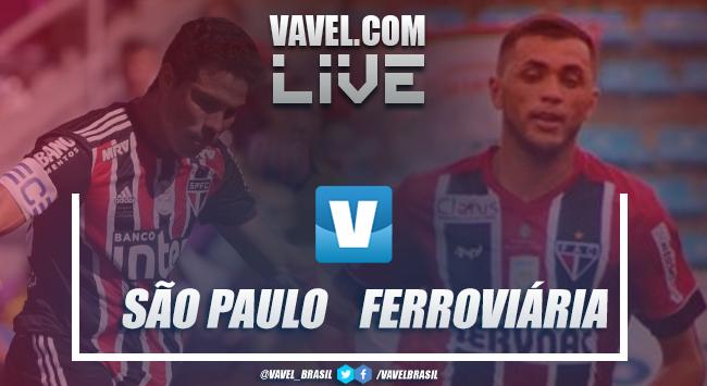 Resultado e gols São Paulo e Ferroviária pelo Campeonato Paulista 2019