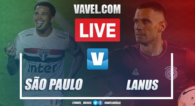 Gols e melhores momentos de São Paulo x Lanús (4-3)