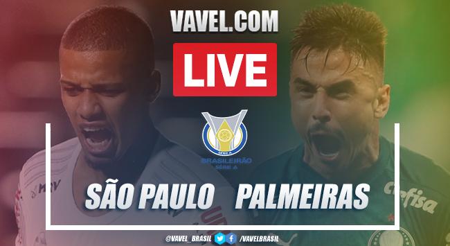Gols e melhores momentos para São Paulo 1x1 Palmeiras pelo Campeonato Brasileiro