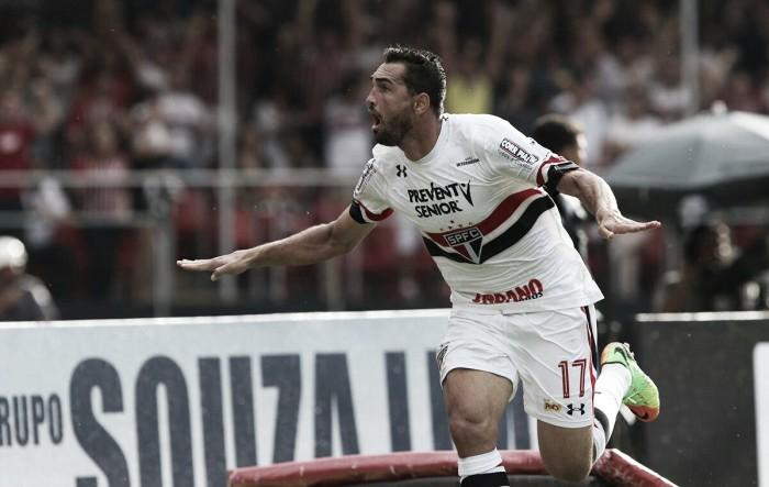Gilberto brilha e São Paulo goleia Ponte na estreia de Ceni como técnico no Morumbi