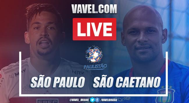 Gols e melhores momentos de São Paulo 5 x 1 São Caetano pelo Campeonato Paulista 2021