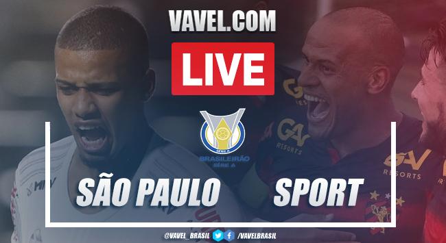 Gol e melhores momentos de São Paulo x Sport pelo Brasieirão 2020 (1-0)