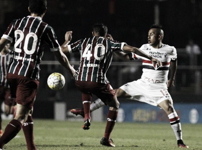 Resultado Fluminense x São Paulo no Campeonato Brasileiro 2016 (1-2)