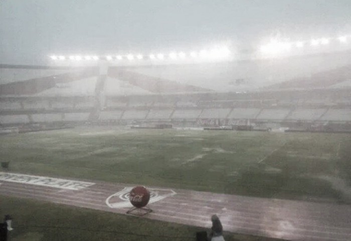 River - Quilmes suspendido por tormentas