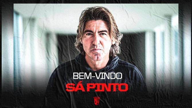 Sá Pinto é o técnico do SC Braga