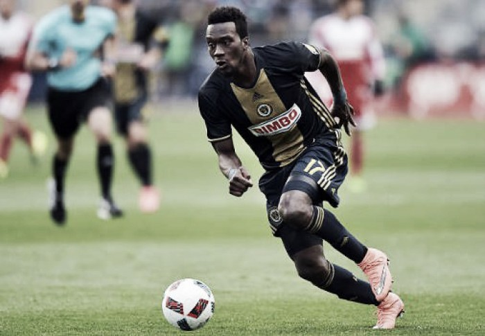 C.J. Sapong named Alcatel MLS Player of the Week