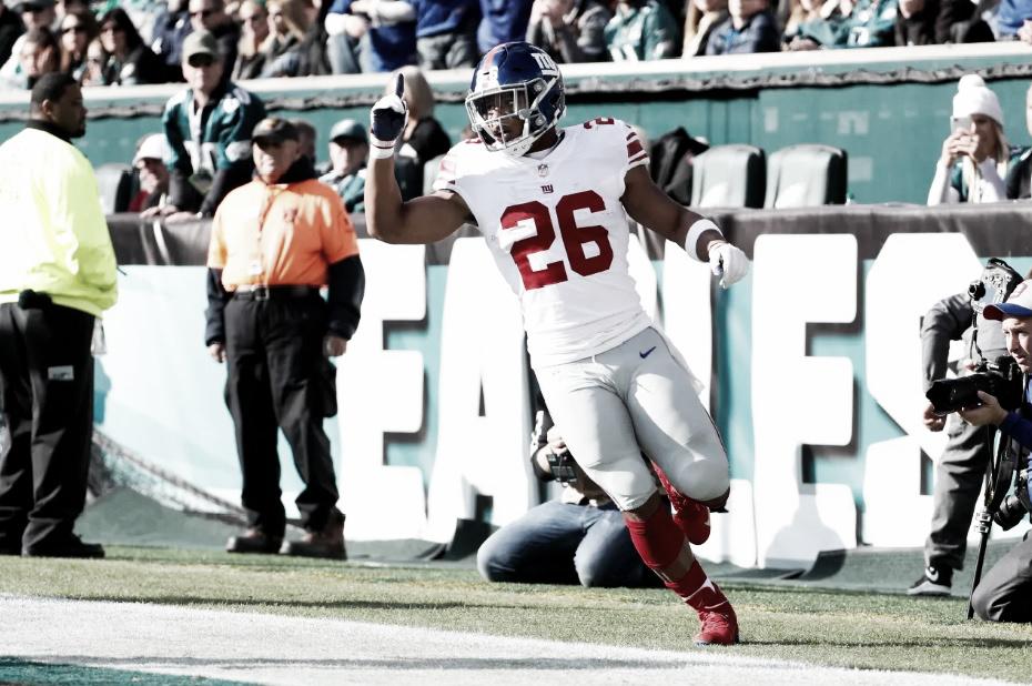 Saquon Barkley brilla pero los Giants no ganan